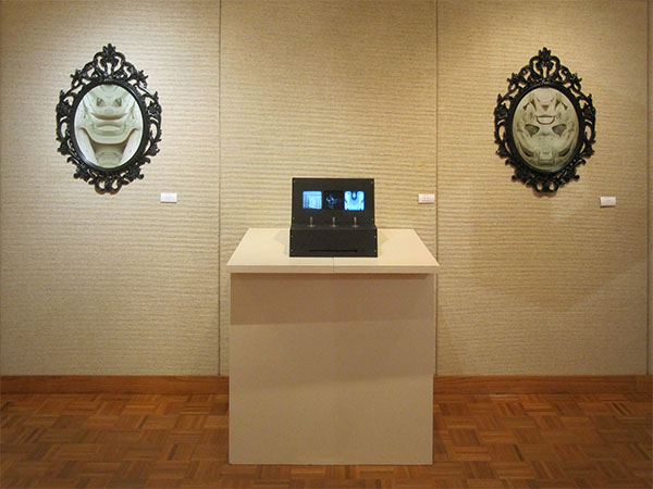 Death Mask 1 and 2, Untiled Faces at Process & Influence