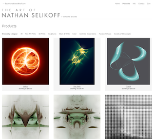 Original Fine Art Prints by Nathan Selikoff